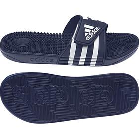 adidas Adissage Sandalias Hombre, dark blue/ftwr white/dark blue